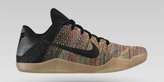 NikeiD Launches Nike Kobe 11 Flyknit  Multicolor  Option – TIP SOLVER 2499254dcd86