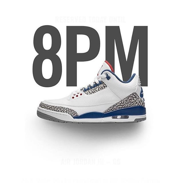Early Pars Of True Blue 3's · Sole Protector™ For Your Nike Air Jordan ...