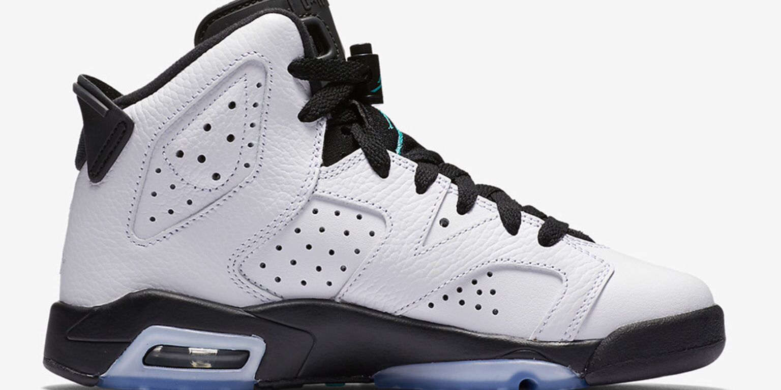 DETAILED LOOK AT THE AIR JORDAN 6 GS  HYPER JADE  – TIP SOLVER 3b0dd84f3