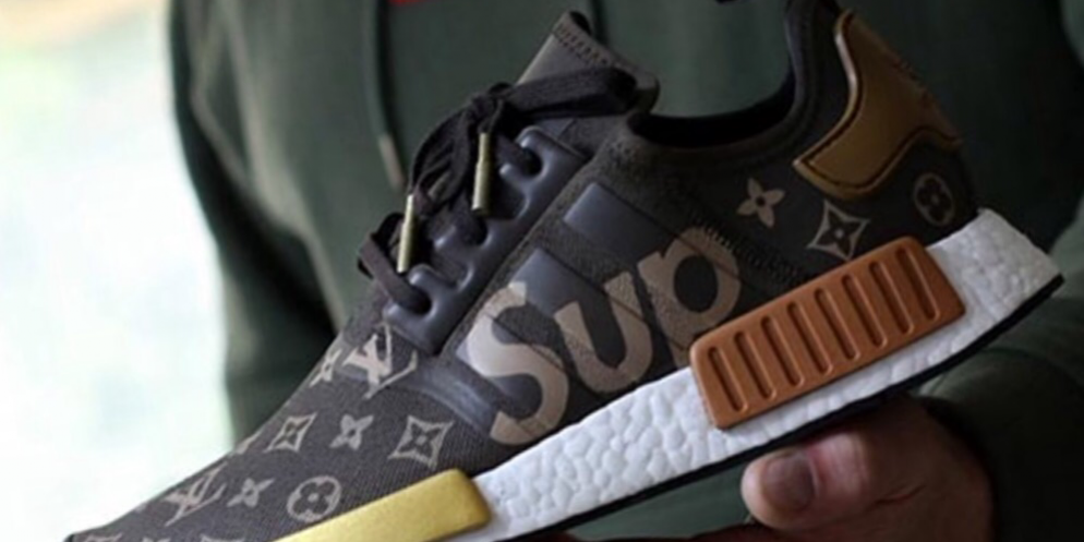 9a0566461ca47 Here s What a Supreme x Louis Vuitton x adidas NMD R1 Might Look Like