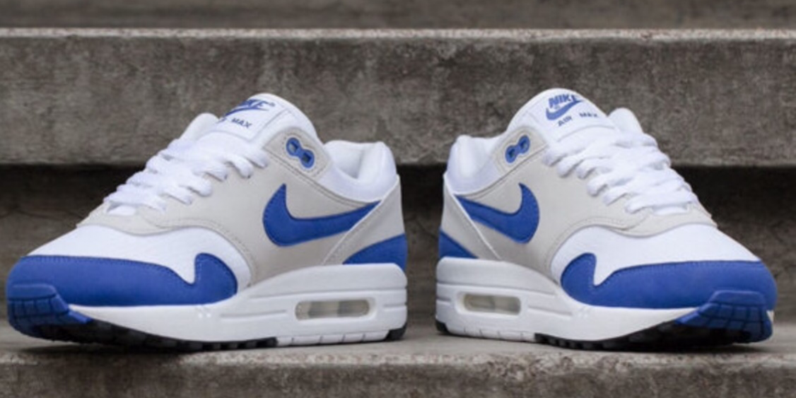reputable site be7a1 9a5c4 Look For The Nike Air Max 1 Anniversary Game Royal This Weekend ...
