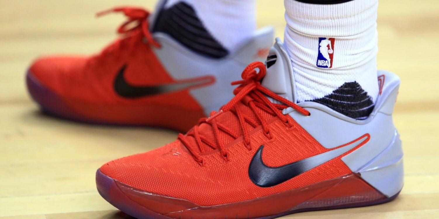 Is This DeMar Derozan s Dopest Nike Kobe AD PE Yet  – TIP SOLVER 04d853b80