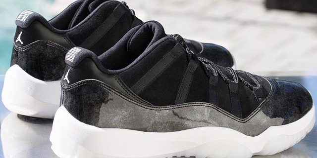"""purchase cheap 11f35 e09ae SP Sole Shouts: Air Jordan [11] Low """"Baron"""" Weekend Vibes ..."""