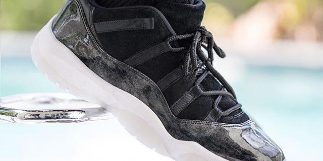 "premium selection e0af1 491f7 SP Sole Shouts: Air Jordan [11] XI ""Baron"" On Feet – TIP SOLVER"