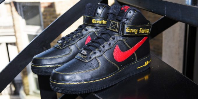 The New VLONE x Nike Air Force 1 High Collection Was Limited