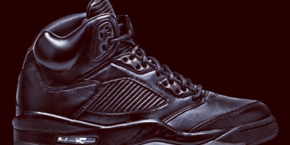 superior quality fe234 c419f The Air Jordan 5 Premium Triple Black Releases In Two Weeks ...