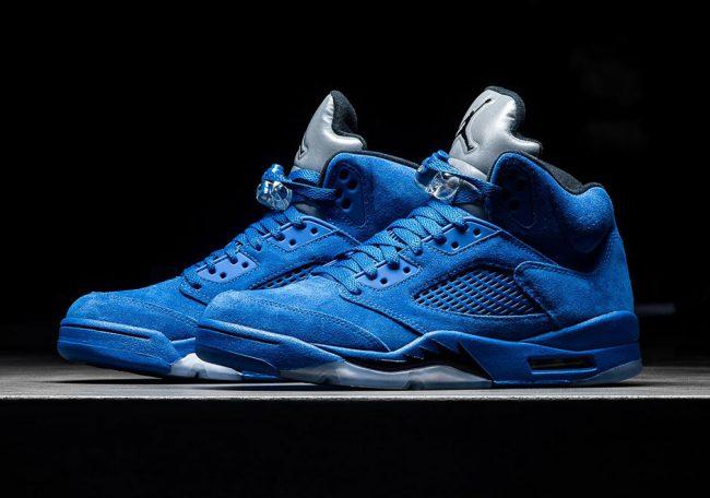 1a94e1c2cc Jordan 5 Blue Suede Release Info