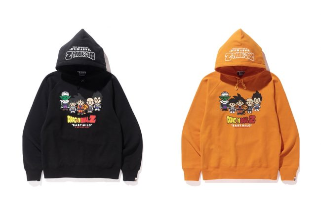 b4ad1120e04 A Bathing Ape Just Revealed a New Collection With  Dragon Ball Z