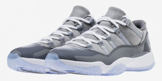 f88a7a2a2c0123 Update  The Air Jordan 11 Low Cool Grey Release Date Has Been Pushed ...