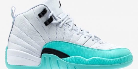 Release Date  Air Jordan 12 GS Light Aqua – Kicks On Fire – TIP SOLVER 5d3701842a