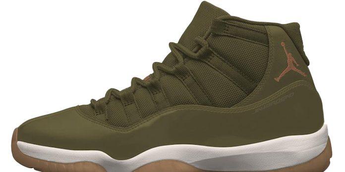 Air Jordan 11 Neutral Olive Release Date – Sneaker Files – TIP SOLVER ca841f0f8c