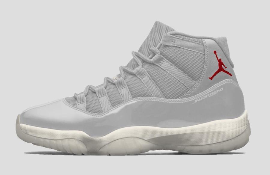 Air Jordan 11 Platinum Tint Release