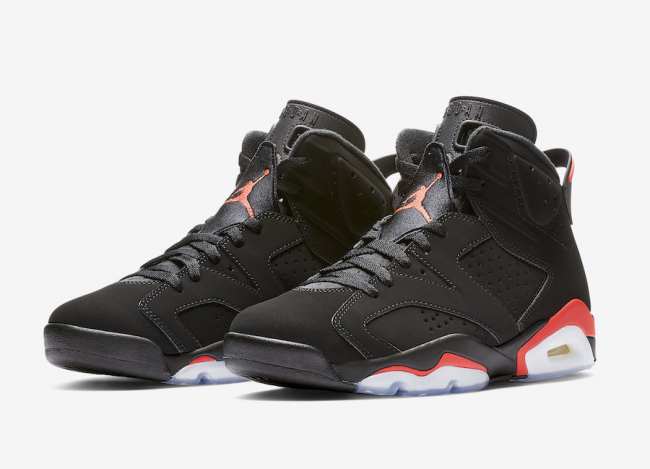6047eed2d9d2 AIR JORDAN 6 BLACK INFRARED RELEASE DATE – SNEAKER BAR DETROIT