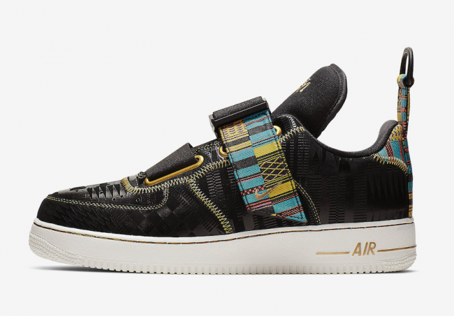 reputable site 127b8 f6f70 Nike Air Force 1 Utility  BHM  Release Date – Sneaker Files