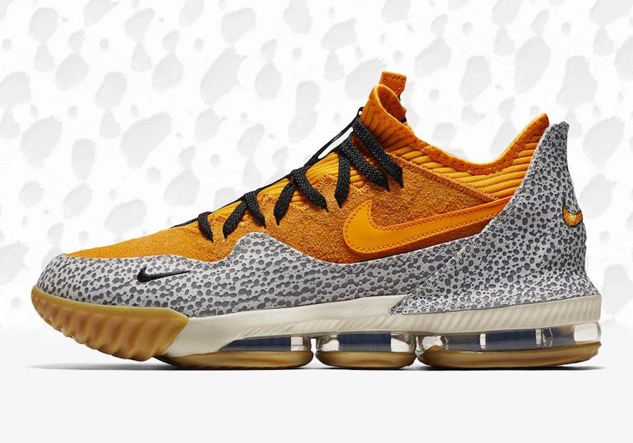 Nike LeBron 16 Low -Kicks On Fire – TIP
