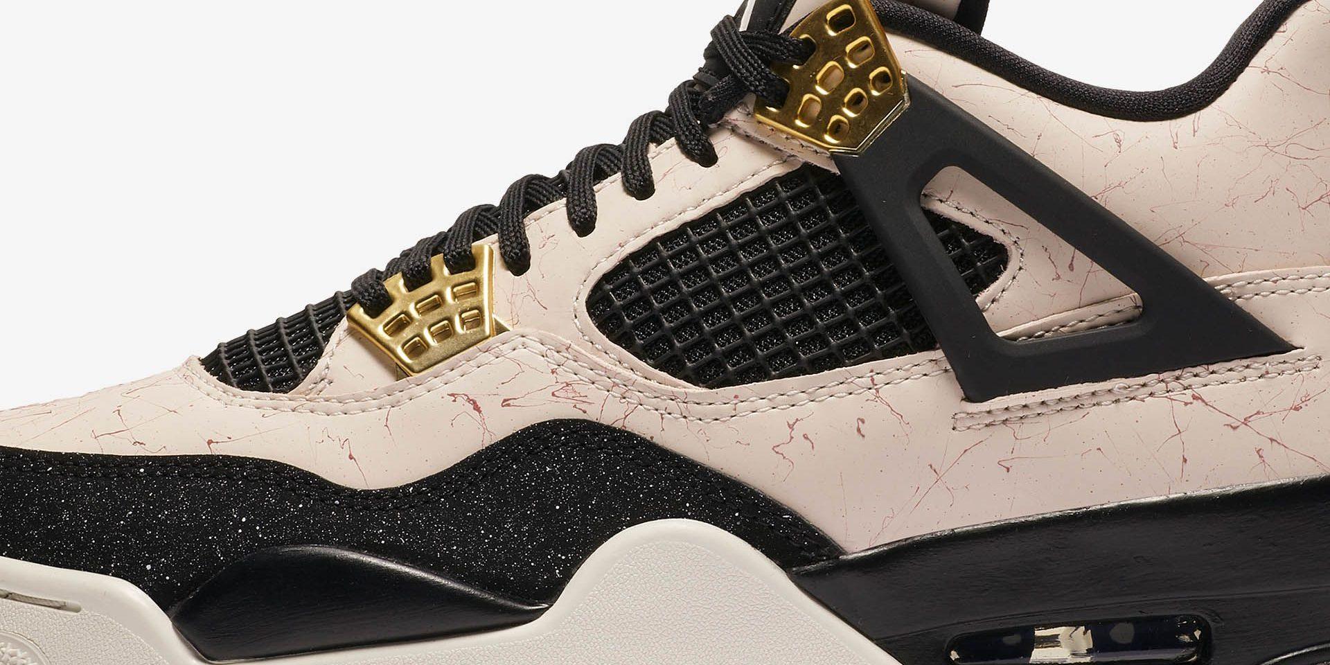 """239554aa5d53 Air Jordan 4 WMNS """"Splatter"""" – KicksonFire.com – TIP SOLVER"""