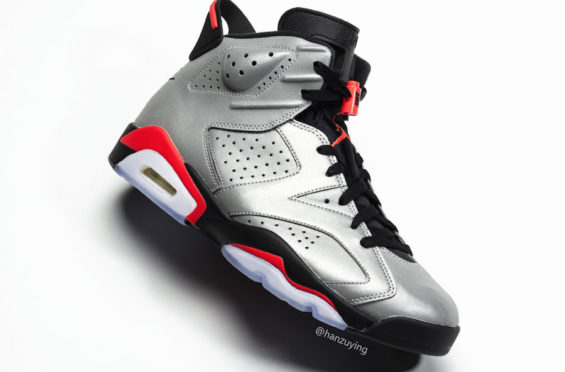 b14d8fafe6f274 The Air Jordan VI  6  3M Reflective Infrared -Kicks On Fire.com