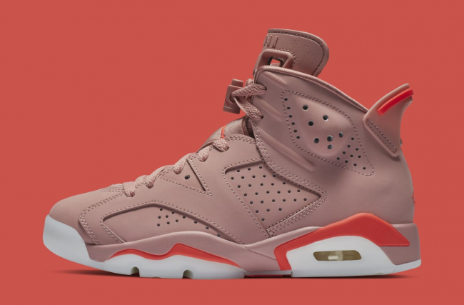 "Aleali May x Air Jordan 6 ""Rust Pink"" March Release Date Confirmed – Hot  New Hip Hop f3e5add2c"