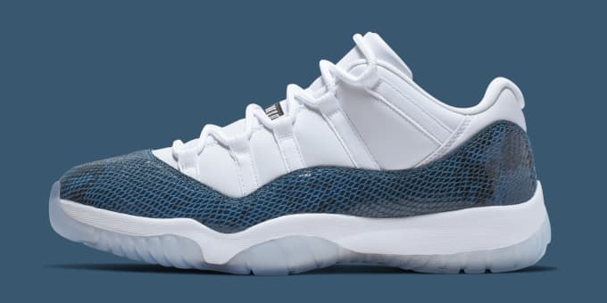 quality design 6de35 fe253 ... 2019 Air Jordan 11 Low Snake Skin