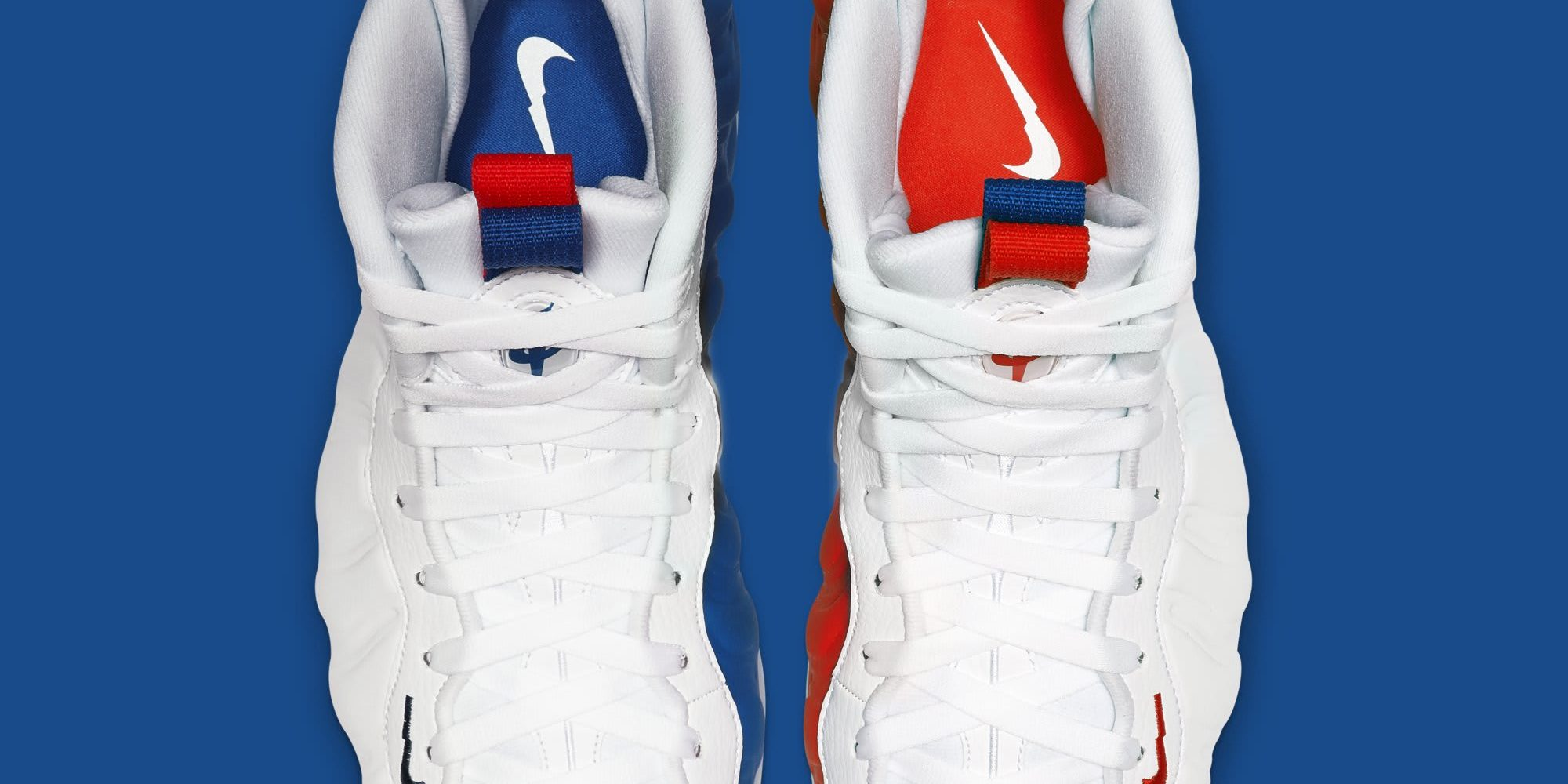 check out 3ce49 e6c3b This Patriotic Nike Air Foamposite One Has Mismatched Uppers ...