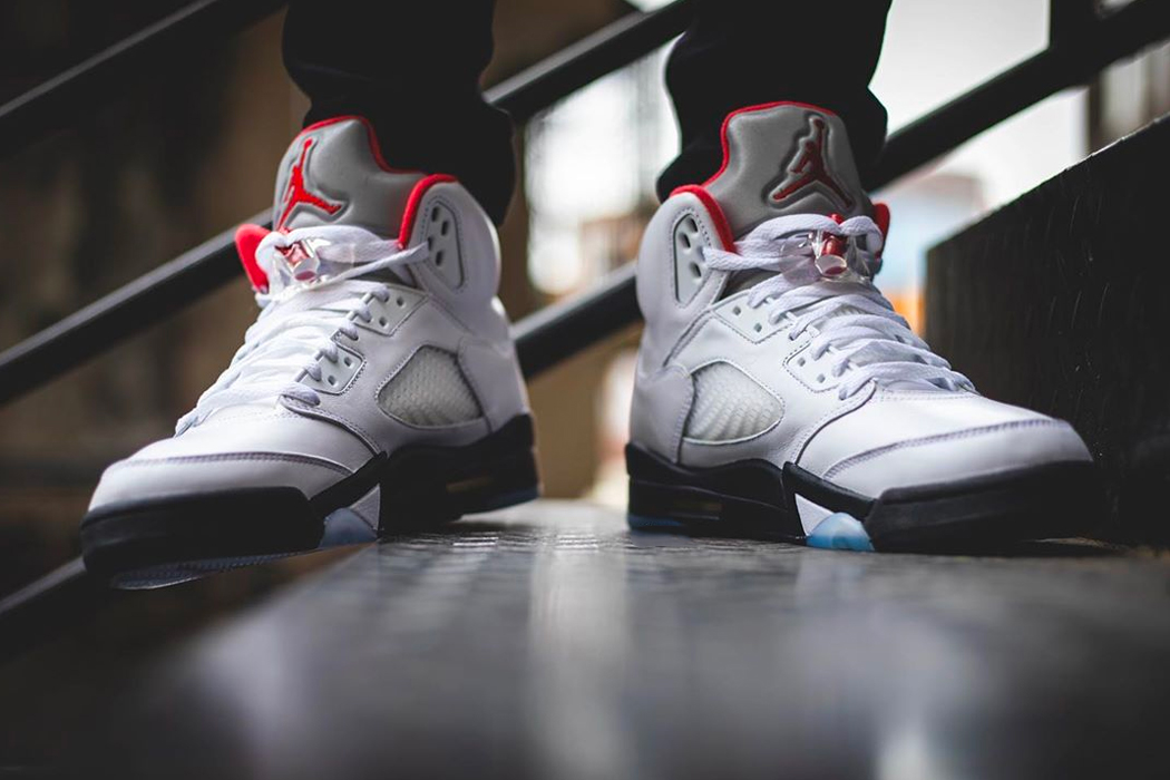 Air Jordan 5 Retro Fire Red Best Sale, UP TO 63% OFF
